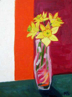 Daffodils by Annie Swarm Guldberg, 2019